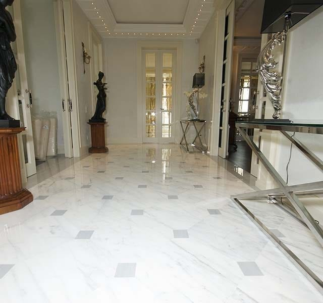 Marmo Bianco Statuario / Bardiglio