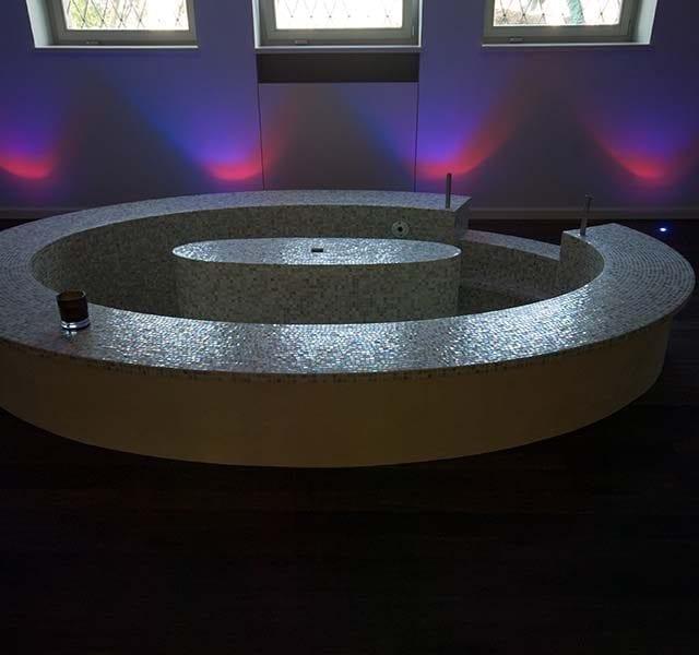 Vasca Kneipp Mosaico vetroso